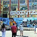 5 Pointz Graffiti Art 3 by Allen Beatty