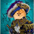 Pomeranian Art Canvas Print by Sandra Sij