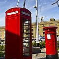 Post Box Phone Box by David Pyatt