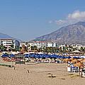Puerto Banus Beach by Luis Alvarenga