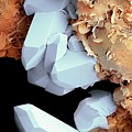 Quartz Crystals by Science Photo Library