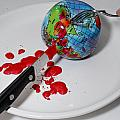 Reflected Globe by Amy Cicconi
