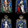 Religious Stained Glass Windows by Luis Alvarenga