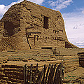 Ruins Of The Pecos Pueblo Mission by Panoramic Images