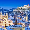 Salzburg In Winter by JR Photography