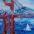 San Francisco Golden Gate Bridge  by Eric  Schiabor