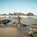 Seal Rock Beach by Christopher Kimmel