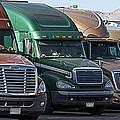 Semi Truck Fleet by Gunter Nezhoda
