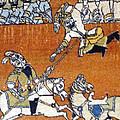 Shahnameh Ferdowsi Rostam And Sohrab Photos Of Persian Antique Rugs Kilims Carpets  by Persian Art