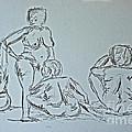 Sketch Class by Julie Lueders