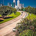 Skyline Of Uptown Charlotte North Carolina by Alex Grichenko