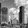 Skyscrapers In A City, Houston, Texas by Panoramic Images