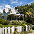 Sullivan's Island Tin Roof Story Book Cottage by Dale Powell
