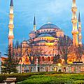The Blue Mosque - Istanbul by Luciano Mortula
