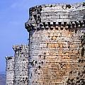 The Crusader Castle Krak Des Chevaliers Syria by Robert Preston