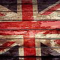 Union Jack Flag  by Les Cunliffe