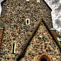 Uppsala Church - Gamia - Uppsala Sweden by Jon Berghoff