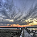 Wando River Sunset by Dale Powell