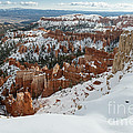 Winter Scene, Bryce Canyon National Park by John Shaw
