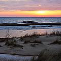 Winter Sunset by Linda Kerkau