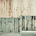 Wooden Background by Tom Gowanlock