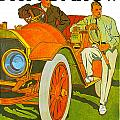 The Pierce Arrow by Vintage Automobile Ads and Posters