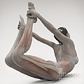Yoga Bow Pose by Science Picture Co