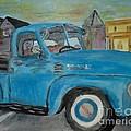 50 Chevy In Tannersville by Donna Cavanaugh