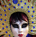 Venice At Carnival Time, Italy by Darrell Gulin
