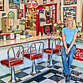 50s American Style Soda Fountain by David Smith
