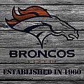 Denver Broncos by Joe Hamilton