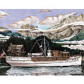 North To Alaska On A 53 Foot Classic Yacht  by Jack Pumphrey