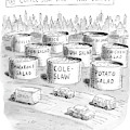 The Coffee Shop Vats Of New Jersey by Roz Chast
