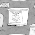 (a Tombstone For John W. Wilson Reads