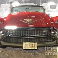 56 Red Cadillac by Robert Wek