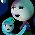 569 - Moonmotherchild by Irmgard Schoendorf Welch