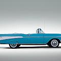 57 Chevy Convertible by Douglas Pittman