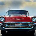 57 Chevy Full Frontal by Don Durante Jr