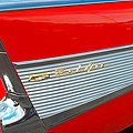 57 Chevy Tail Fin by Don Durante Jr