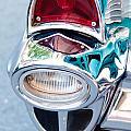57 Chevy Taillight by Brenda Hackett