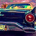 57 Ford T Bird Tail by Daniel Enwright