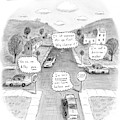 Passive-aggressive Standoff by Roz Chast