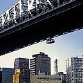 59th Street Tram - Nyc by Linda  Parker