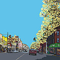 5th Ave And Garfield Park Slope Brooklyn by James  Mingo