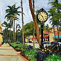 5th Avenue Naples Florida by Christine Hopkins
