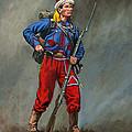 5th New York Veteran Volunteers - Duryee's Zouaves 1864 by Mark Maritato
