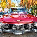 1960 Cadillac Eldorado Biarritz Convertible Painted  by Rich Franco