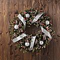 Advent Christmas Wreath Decoration by U Schade