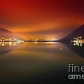 Alpine Lake At Night by Mats Silvan