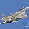 An F-15i Raam Of The Israeli Air Force by Ofer Zidon